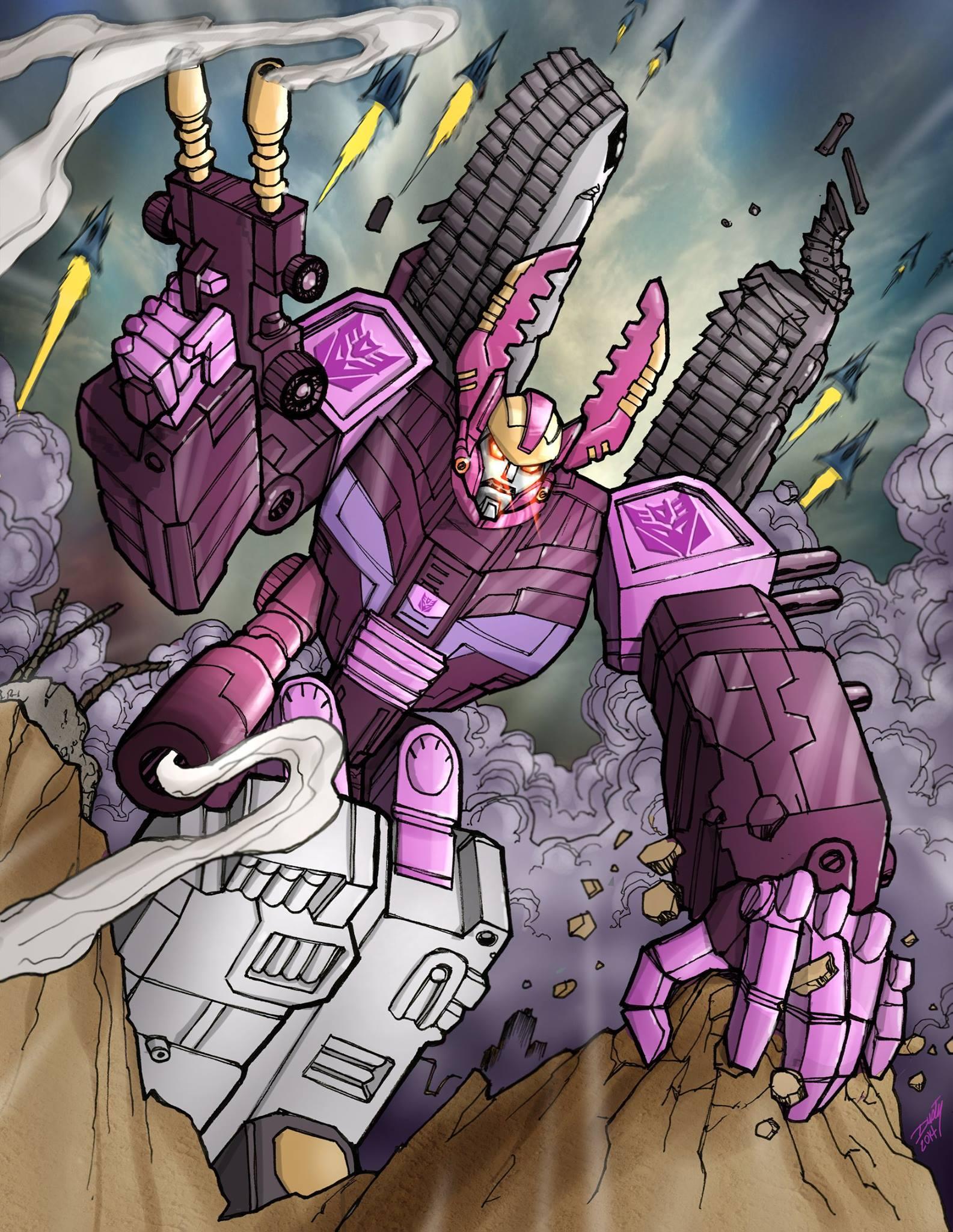 Transformers Armada Galvatron: How I Do It