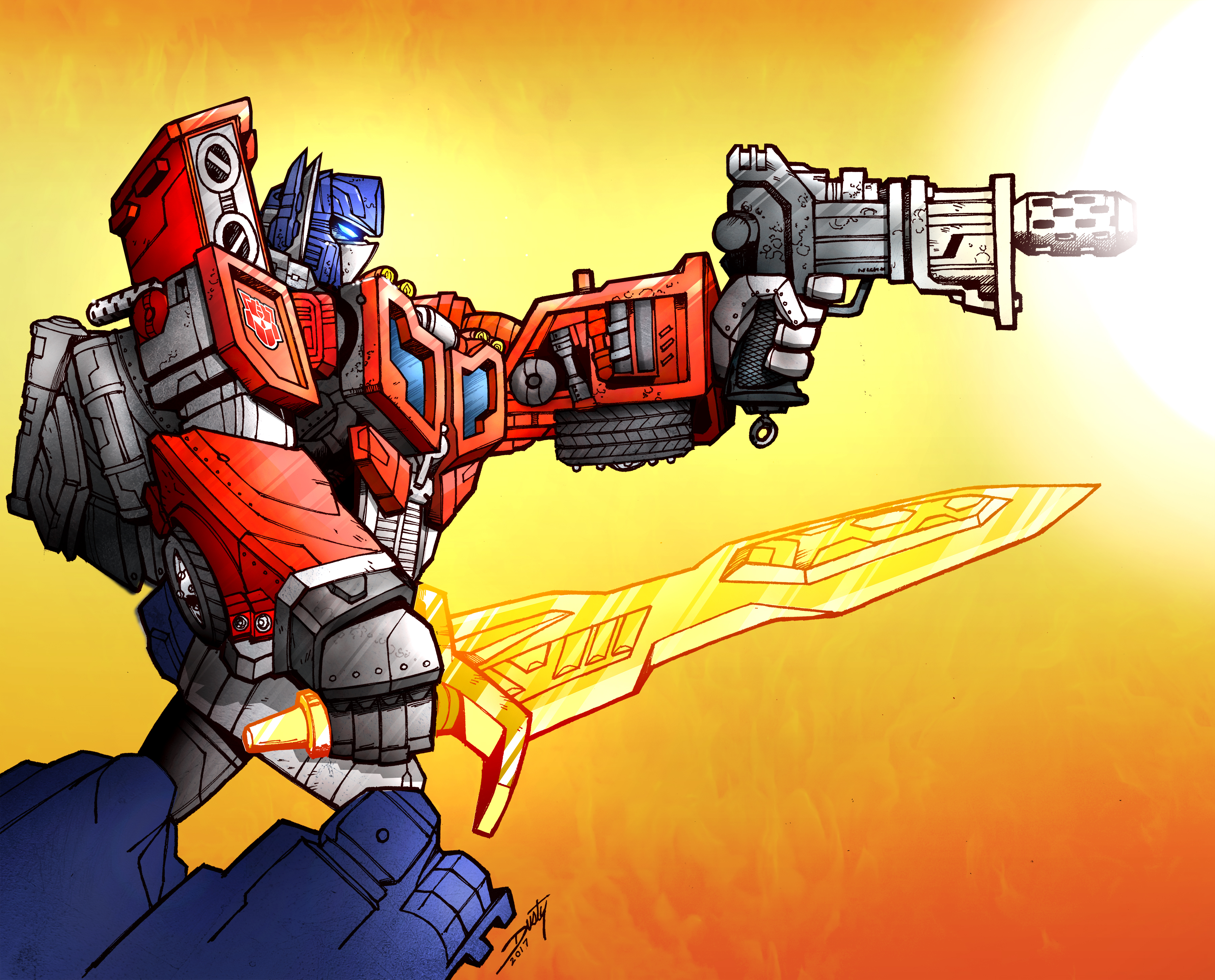 Titans Return Optimus Prime
